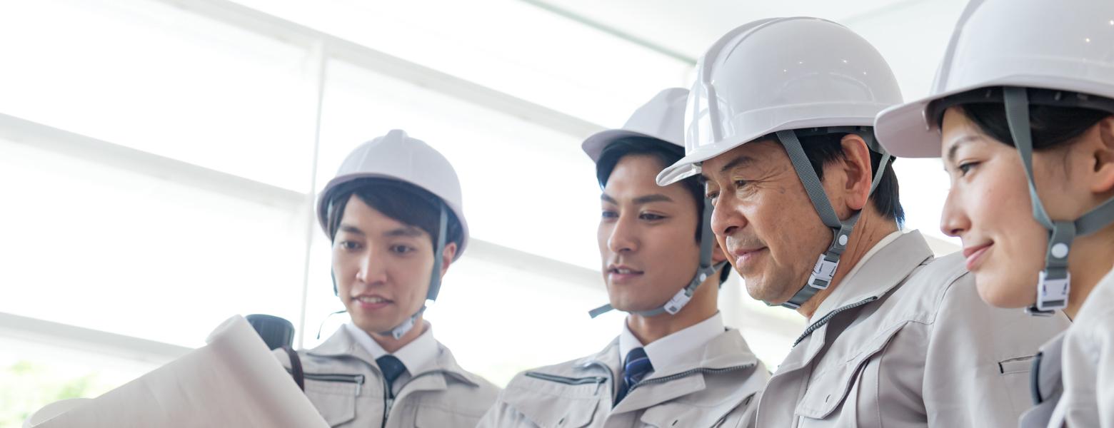 資格を持った経験豊富な技術者の提供