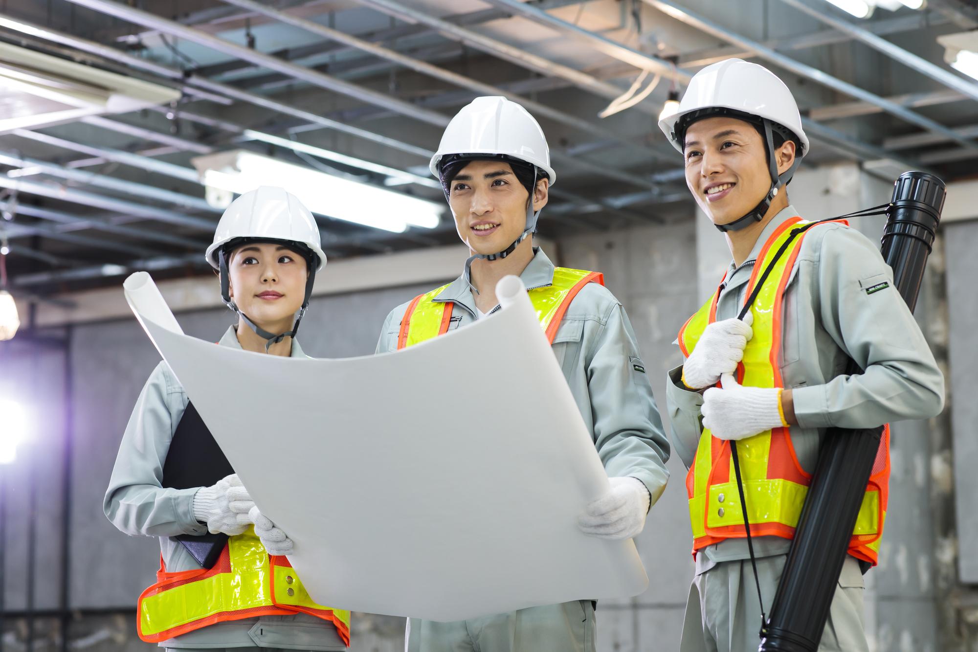 現場監督・施工管理の仕事内容5つ|安全管理をする時に重要な3つのこととは?